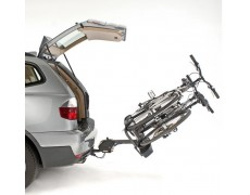 Porte-vélo platinium Pliable et rabattable 2 vélos