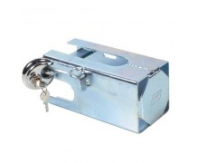 Antivol à clés galvanisé + cadenas