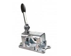 Collier avec poignée pivotante pour roue jockey 48 mm