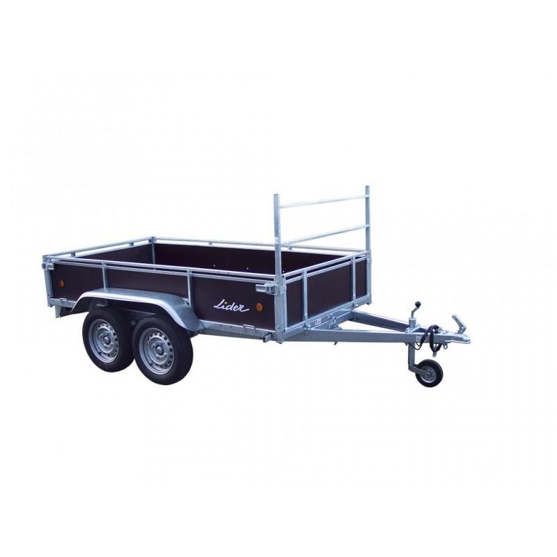 Lider bois 500kg 34450 atlantique remorques franc - Location remorque porte voiture sans permis e ...