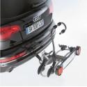 Porte-vélo attelage pliable : 2 vélos