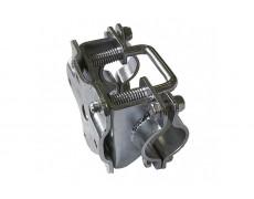 Collier basculant à 90 degrés pour roue jockey 48 mm
