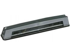 Éclaireur de plaque long laqué argent JOKON - 266 x 43 x 42 mm