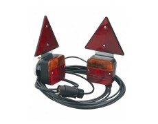 Kit éclairage feux magnétiques + triangles L: 7.50M