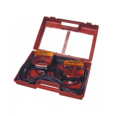 Kit éclairage feux magnétiques + valisette L: 7.50M