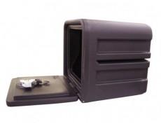 Coffre de rangement polyéthylène 40 cm avec serrure